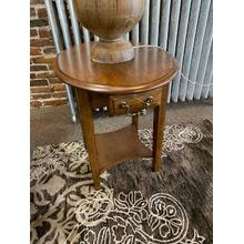See Details - Pair of Burnished Walnut End Tables Model# 7907