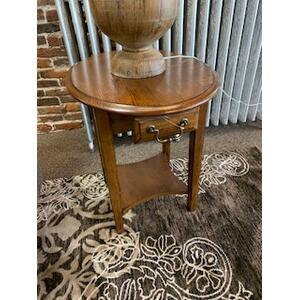 Gallery - Pair of Burnished Walnut End Tables Model# 7907
