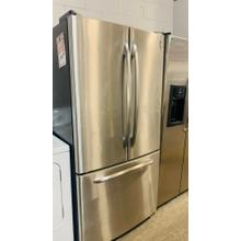 See Details - USED-  GE Profile ENERGY STAR® 22.2 Cu. Ft. Stainless Bottom-Freezer Refrigerator FD3SS33-U  SERIAL #18