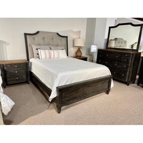 American Drew - Queen Bed, Dresser, Mirror, Chest and 2 Nightstands