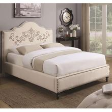 Homecrest Upholstered Queen Size Bed