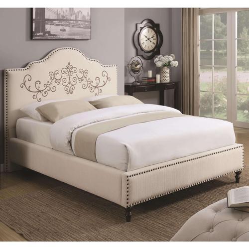 Homecrest Upholstered Queen Size Bed