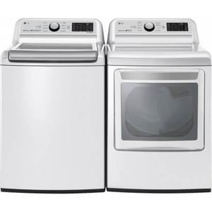 Packages - LG TurboWash 3D Smart Wi-Fi Enabled 5 Cu Ft High Efficiency Top-Load Washerand EasyLoad Smart Wi-Fi Enabled 7.3 Cu Ft Electric Dryer - Energy Star
