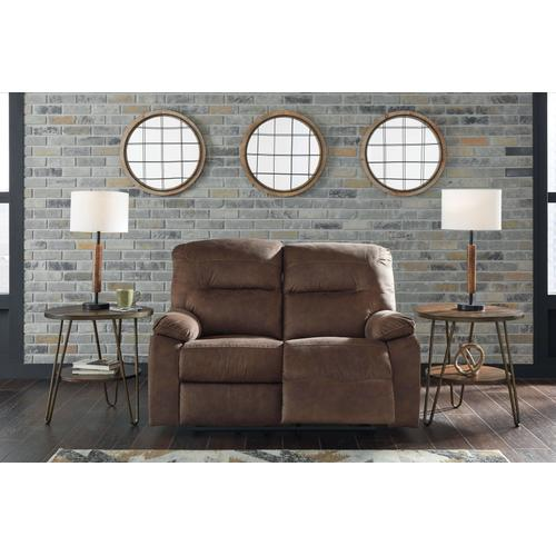 Bolzano Reclining Loveseat - Coffee