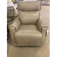Holton Leather Power Gliding Recliner with Power Headrest