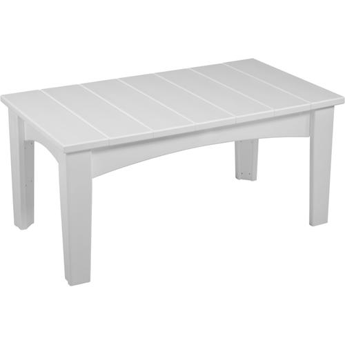 Island Coffee Table White