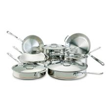 See Details - All-Clad 60090 5-ply Copper Core 14-Piece Cookware Set