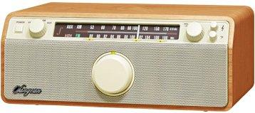 WR-12 Natural Cherry - FM / AM / Aux-in / Bluetooth Wooden Cabinet Receiver