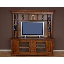 Entertainment Console & Plasma TV Hutch