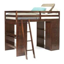 Generation Trade Furniture Loft Bed With Storage 226300 Bedroom set Houston Texas USA Aztec Furniture