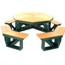"Picnic Table | 48"" Octagon"
