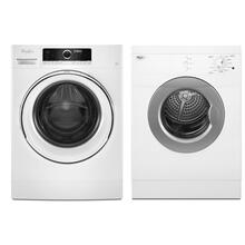 See Details - Whirlpool Compact Washer and Vented Dryer Set