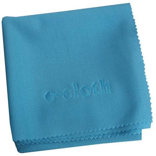 Glass and Polish Cloth Blue
