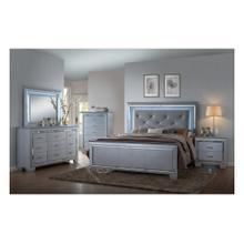 See Details - CrownMark 4 Pc Queen Bedroom Set, Lillian B7100