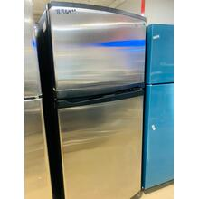 See Details - USED White-on-White Whirlpool® 19 cu. ft. Resource Saver™ ENERGY STAR® Qualified ADA Compliant Top Mount Refrigerator  TMSS30-U  SERIAL #95