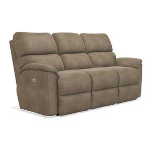 La-Z-Boy - Brooks Reclining Sofa in Mushroom       (440-727-B160462,44894)