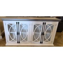 See Details - JET-COM 146   Buffet, Distressed White