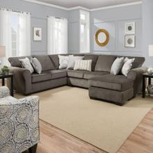 Harlow Ash 2 Piece Sectional