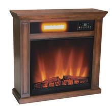 WORLD HEATER EF5675R Oak Finish Ainsley Electric Fireplace