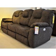 Design 2 Recline, Cloth Power sofa. Power recline on both ends, with power headrest, lumbar support & USB power port. Extra discounts available, additional cash discount available. MORE PHOTOS AVAILABLE UPON REQUEST