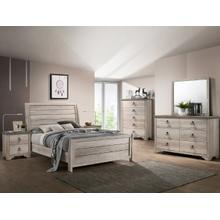 Patterson Kg Sleigh Bed, Dresser, Mirror, Chest and Nightstand