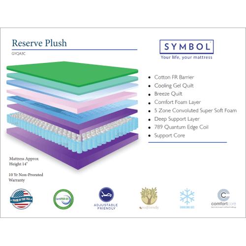 Symbol Reserve Plush