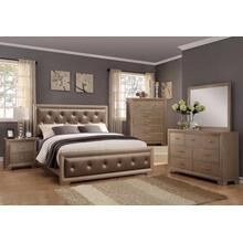CrownMark 4 Pc Queen Bedroom Set, Fontaine B1700