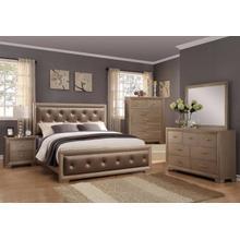 See Details - CrownMark 4 Pc Queen Bedroom Set, Fontaine B1700