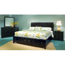 KING STORAGE BED F21 996-062/066/067