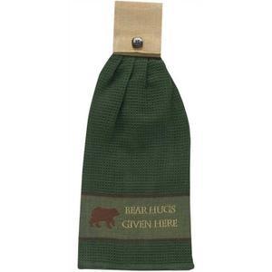 Bear Hugs Dishtowel