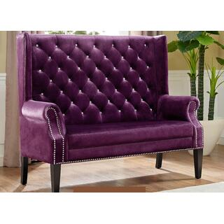 Odina Bench Purple