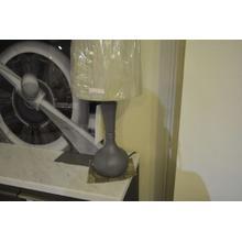 Product Image - Ashley Furniture grey table lamp.