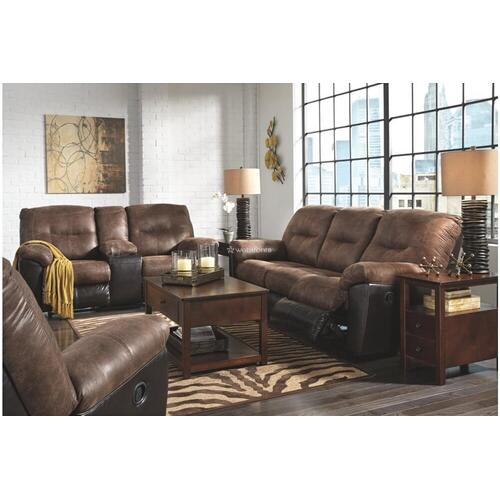 Ashley 652 Follet Coffee Reclining Sofa and Love