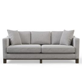 See Details - Parkview Sofa Light Gray