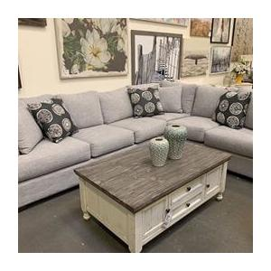 Light Gray 2 Piece Sectional