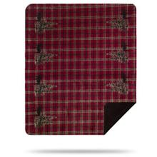 Moose Plaid Border