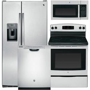 GE Stainless Steel Kitchen Suite
