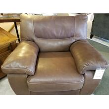 Natuzzi Editions Madison Brown Leather Chair