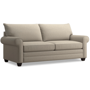 Alex Roll Arm Sofa - Straw