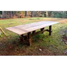 Locally Made Barnwood Timber Dining Table