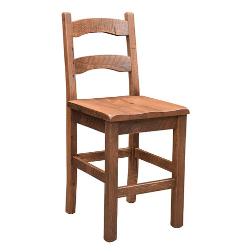 Amish Furniture - Frontier Bar Stool