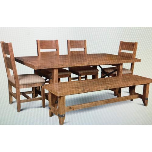 Horizon Home Furniture - Urban Rustic Dining Table