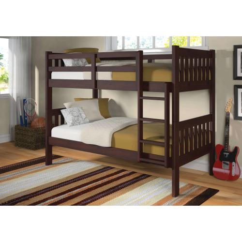 Donco Trading Company - Twin Mission Bunkbed