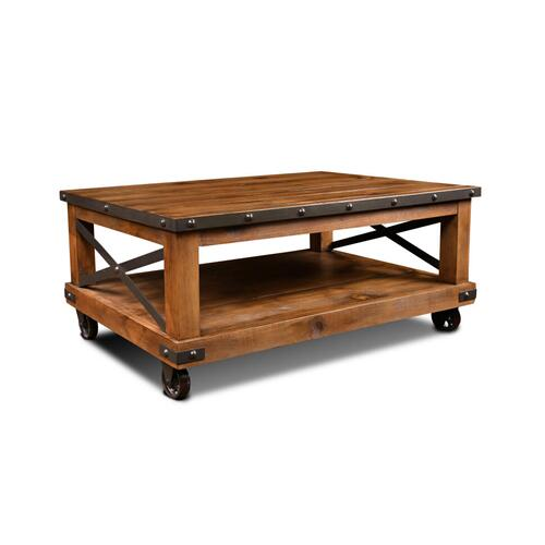 Horizon Home - Urban Rustic Cocktail Table