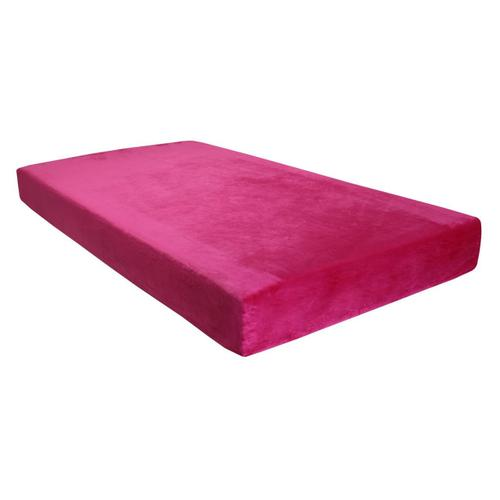 "Kids-Pedic Waterproof Memory Foam Mattress - 7"" Pink"