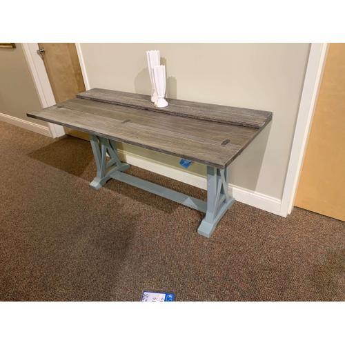 Blue Folding Top Console / Desk - Style #40304