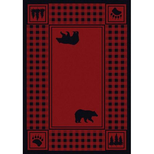 American Dakota Rugs - Bear Refuge