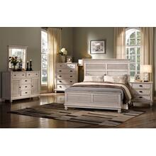 Lakeport 5/0 Queen Bedroom Set 5pc-(BED,DR,MR,2NS) - Driftwood