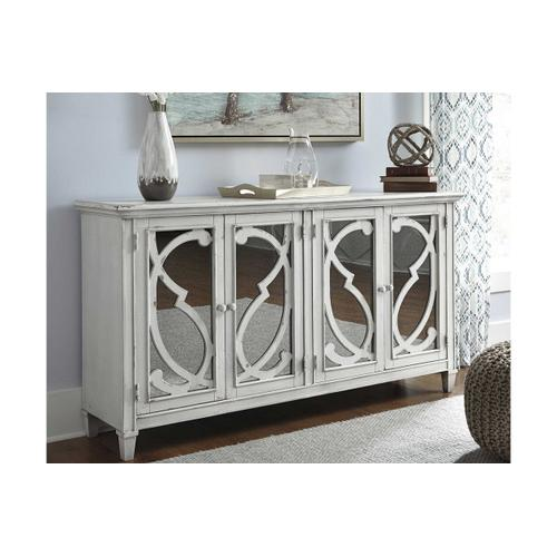 Mirimyn Large Cabinet with mirrored doors