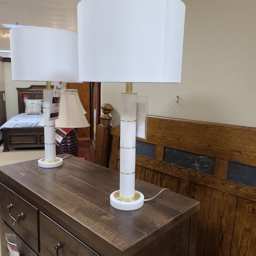 Marble Column Table Lamp (L/STLA1254)